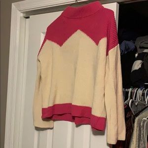 "J crew  ""the reeds"" sweater"
